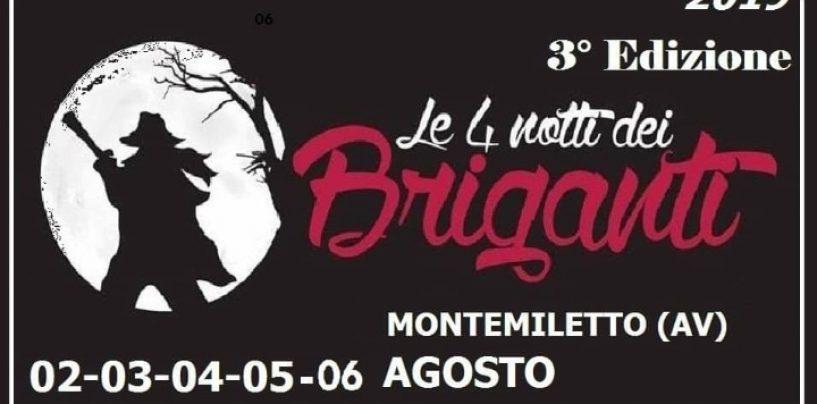 Enzo Avitabile e O' Zulù a Montemiletto per le 4 Notti dei Briganti