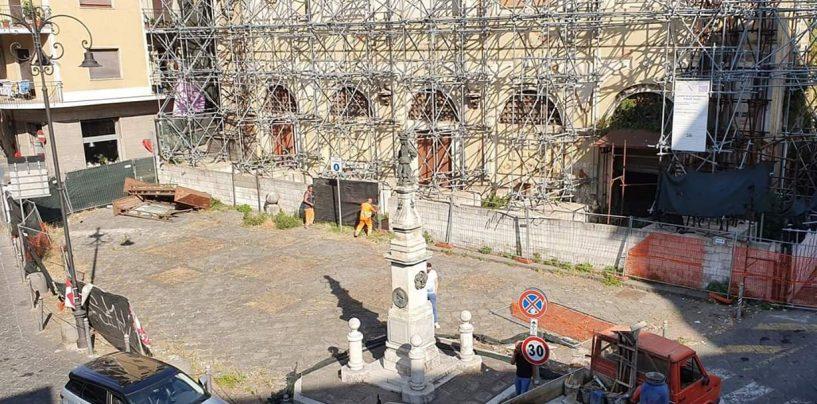 Ex Dogana, liberata piazza Amendola: al via la rinascita