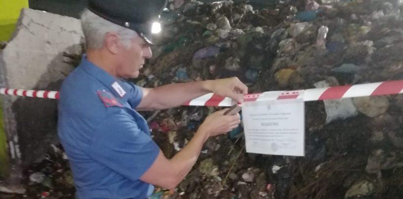 Gestione illecita di rifiuti, sequestro nell'area industriale