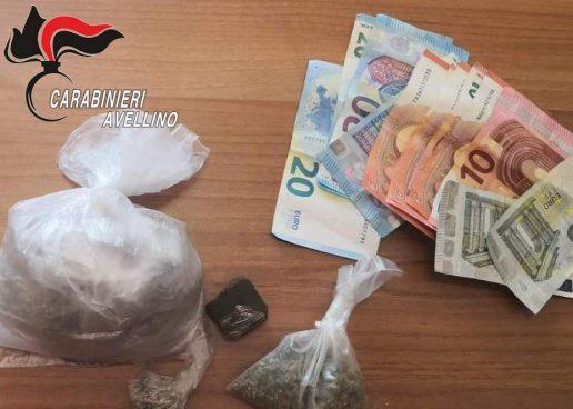 Ariano Irpino, venditore ambulante arrestato per spaccio