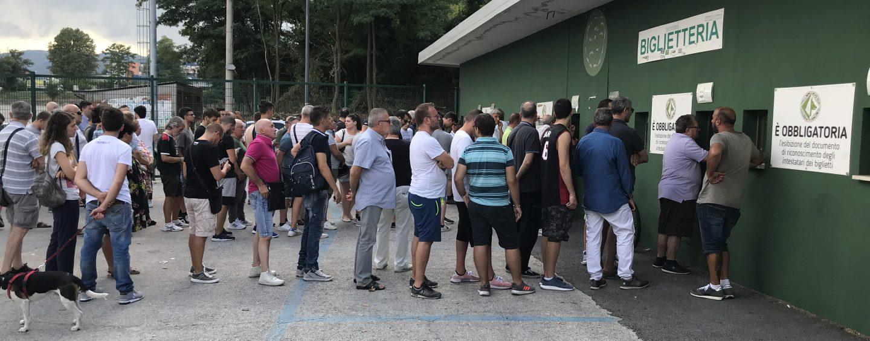 Prevendita Avellino-Bari: il dato parziale della biglietteria