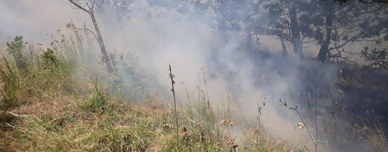 Roghi nelle campagne mugnanesi, in corso le operazioni di spegnimento