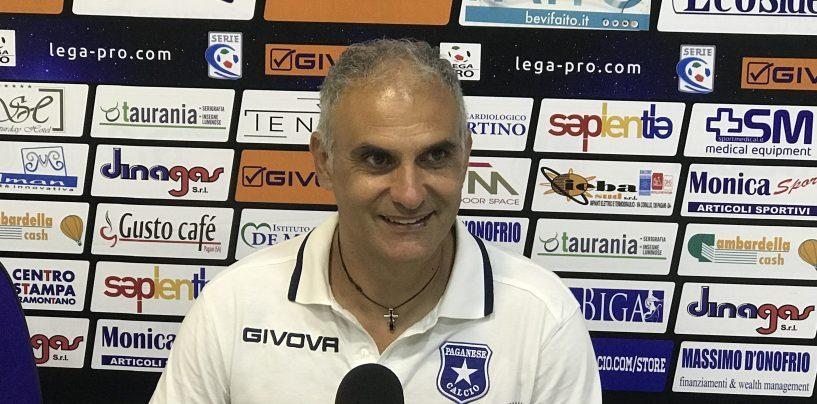 """Paganese-Avellino, Erra: """"Lupi forti altro che sorpresa"""""""