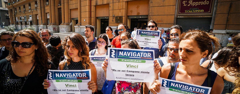 Sciopero della fame ad oltranza, i navigator campani fanno sul serio