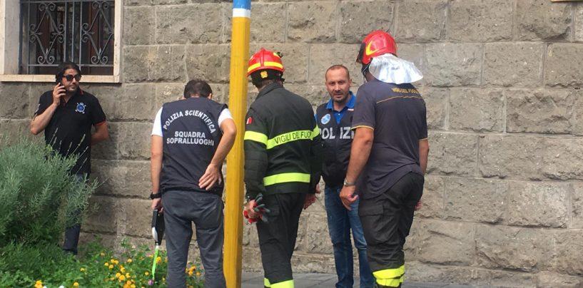 Esplosione davanti Palazzo Vescovile, il giorno dell'interrogatorio di Nelson Lamberti