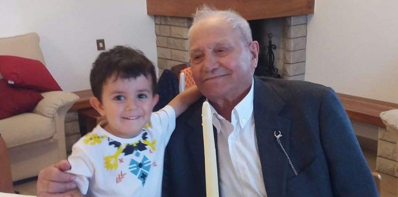 Il nonno compie 102 anni, il pronipote 4: in festa le comunità di Bisaccia e Caposele
