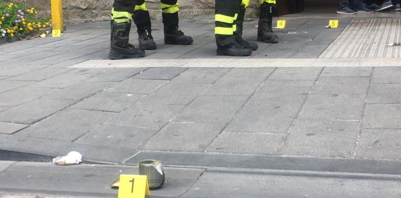 Esplosione davanti Palazzo Vescovile, prima notte in cella per l'attentatore. Lunedì udienza di convalida