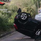 Paura a Nusco: auto si ribalta, ferite due donne