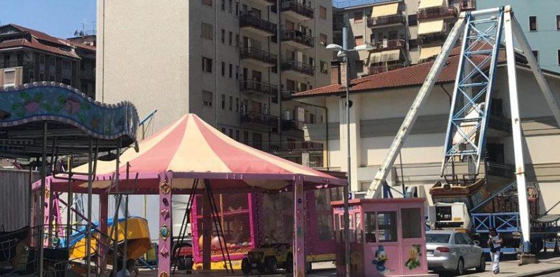 FOTO/ A Campetto Santa Rita arrivano le giostre: ecco le disposizioni per auto e pullman