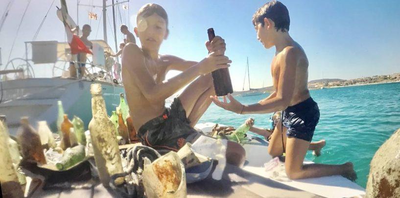 Il mare della Sardegna ripulito da cinque ragazzi. Uno di loro è di Avellino e vorrebbe conoscere Greta