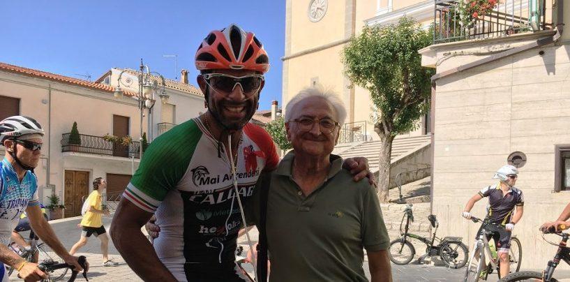 """La ciclopedalata di """"Io dono – L'Irpinia per la vita"""" ha tappa a Gesualdo"""