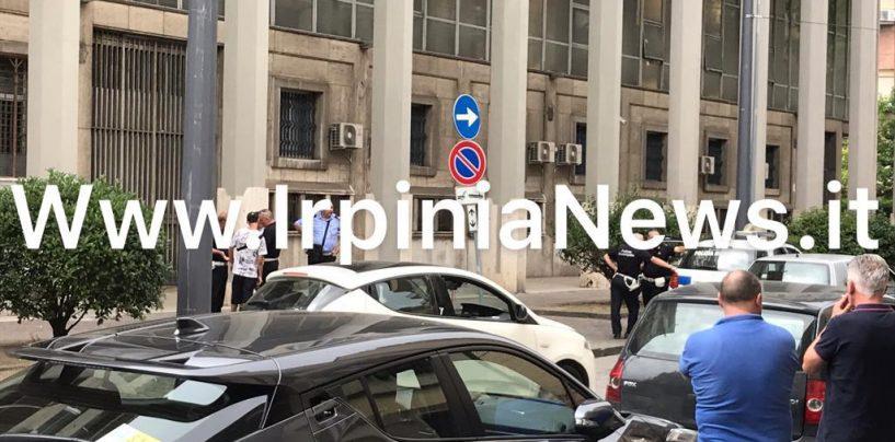 Bagarre nei pressi del Tribunale di Avellino: arrivano Vigili Urbani e Polizia di Stato