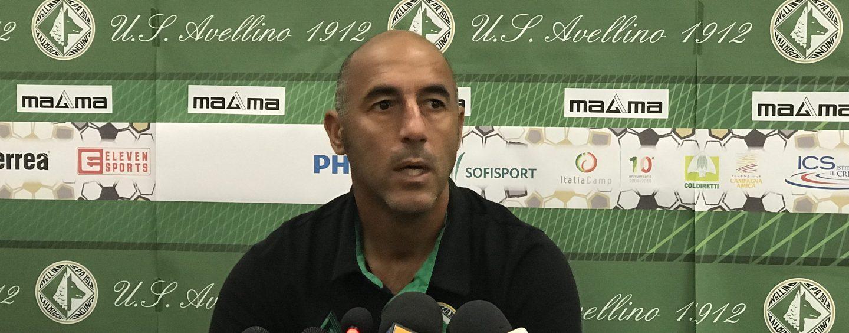 """Ignoffo: """"Due assenti e due in dubbio, il mercato dell'Avellino è chiuso"""""""