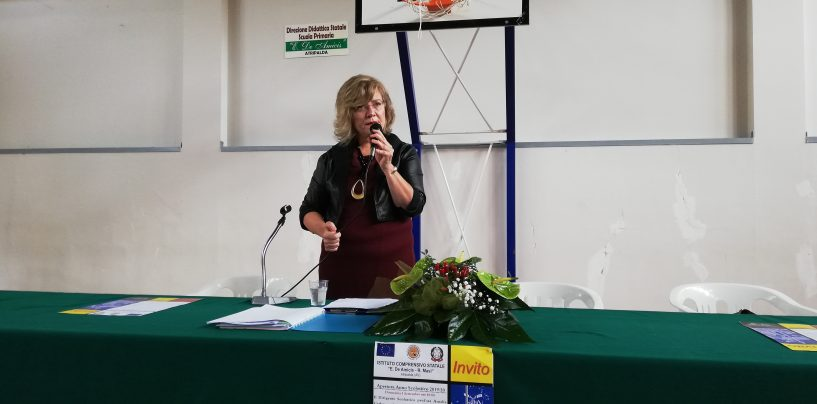 """""""La nostra sarà una scuola inclusiva e trasparente"""". Al """"De Amicis-Masi"""" il nuovo corso targato Carbone"""