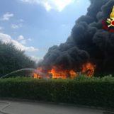 Incendio Ics: dissequestrati alcuni stampi