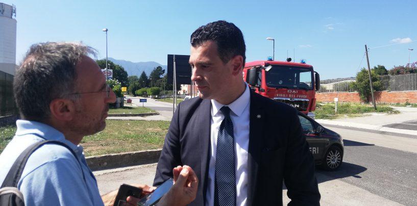 Incendio Pianodardine, continuano i controlli. Il sindaco Festa scrive ai Ministri della Salute e dell'Ambiente