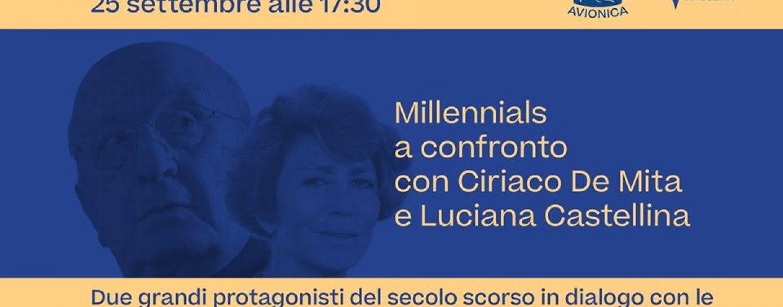 """Luciana Castellina e Ciriaco De Mita a confronto con i """"Millenials"""". Appuntamento il 25 settembre ad Avellino"""