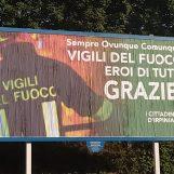 Incendio Avellino, ennesimo tributo per i vigili del fuoco