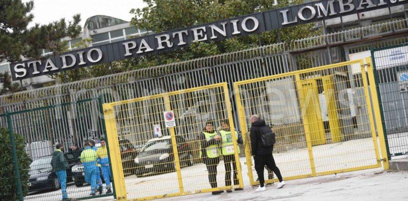 Derby Avellino-Cavese: chiusa la tribuna Terminio