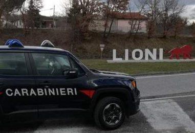 Contrasto ai furti, i carabinieri allontanano con foglio di via un uomo sospetto da Lioni