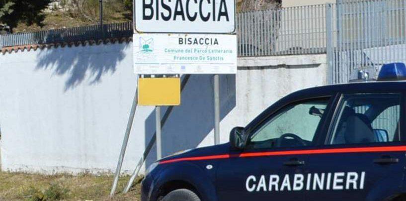 Bisaccia, minaccia i carabinieri durante un controllo: 35enne ai domiciliari ritorna in carcere