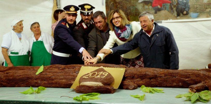 Tartufo nero e tronco di castagne da guiness: boom di presenze anche quest'anno a Bagnoli Irpino