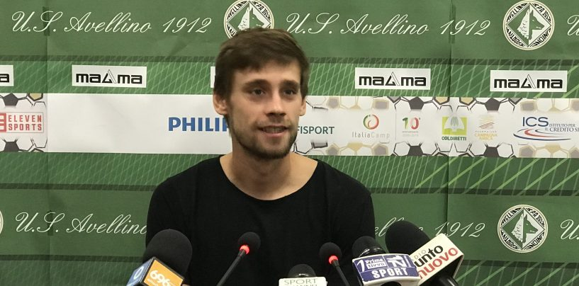 "Avellino, Celjak: ""Riscatto immediato, più cattivi e determinati"""
