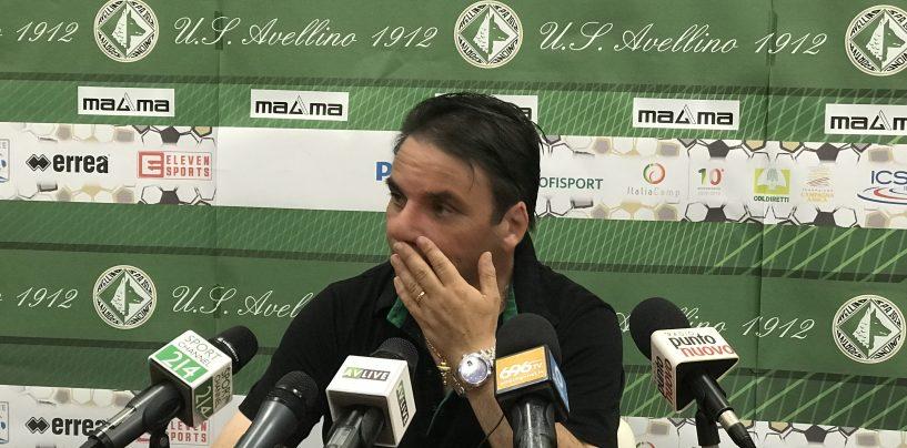 """Avellino, Capuano: """"Vogliamo passare, il club avrà un futuro importante"""""""