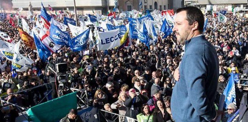 """Lega e centro-destra oggi in Piazza, dall'Irpinia la """"carica"""" dei 300"""