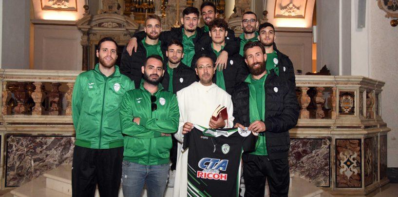 FOTO / Atripalda Volley, visita e benedizione al Santuario di Montevergine