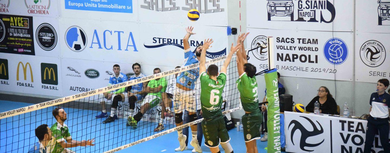 Volley Serie B, Atripalda cede il passo a Sacs Napoli