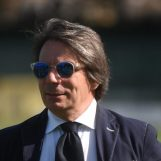 """Avellino-Bari, Capuano: """"Commosso dai miei, rispetto il coro della curva"""""""