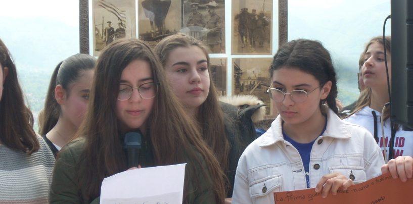 """Il 4 novembre degli alunni dell'istituto """"De Sanctis-D'Agostino"""""""