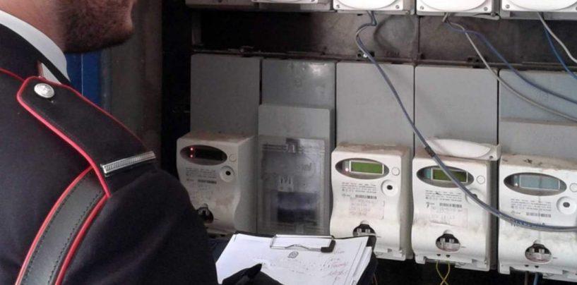 65enne di Grottaminarda nei guai per furto di energia elettrica