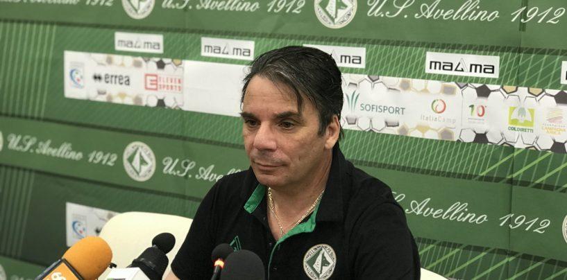 """Avellino, il grido di Capuano: """"Noi in emergenza, ecco il mio dossier"""""""
