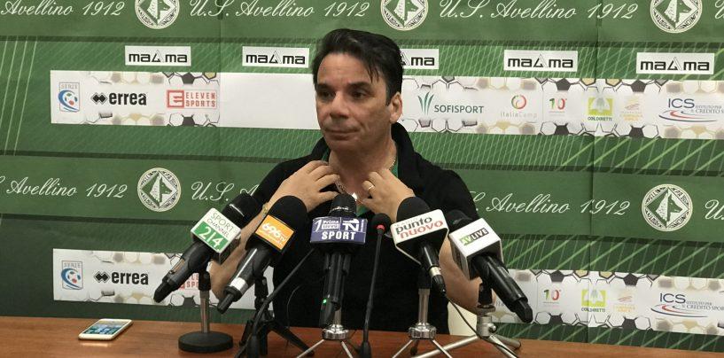 """Avellino, Capuano: """"Catanzaro tigre ferita. Taibi? Non ha visto la partita"""""""