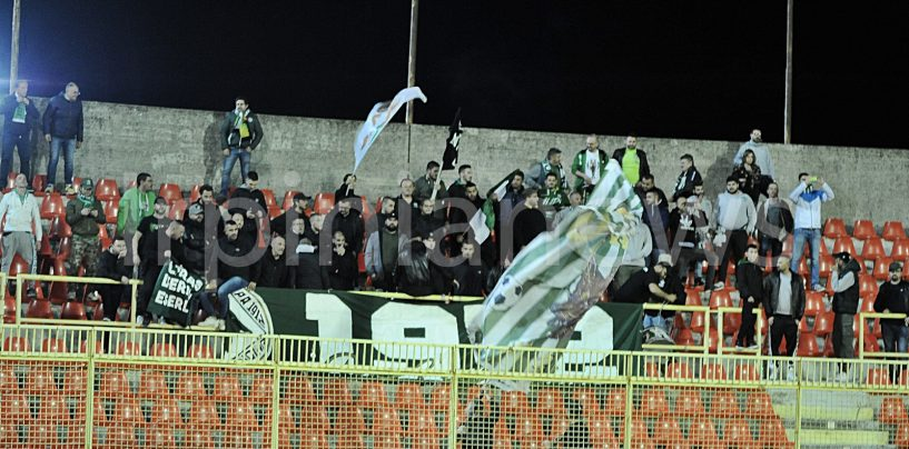 Bisceglie-Avellino, ecco la risposta dei tifosi biancoverdi alla crisi societaria