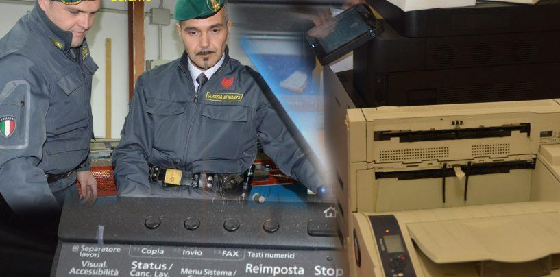 Fotocopie illegali, blitz a Salerno: quattro denunce