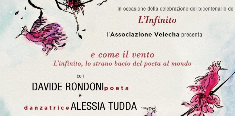Atripalda, Davide Rondoni omaggia Giacomo Leopardi per i 200 anni de L'Infinito