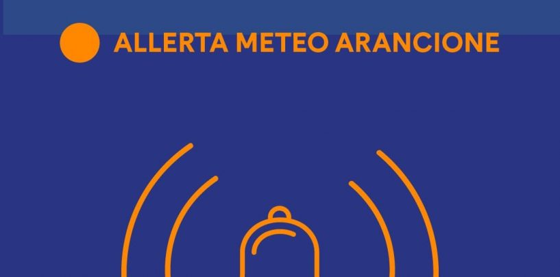 """Meteo, allerta """"arancione"""" prorogata fino alle 6 di domani. Attenzione a fenomeni di dissesto"""