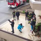 VIDEO/ Vigili del Fuoco morti ad Alessandria, l'omaggio dell'Irpinia