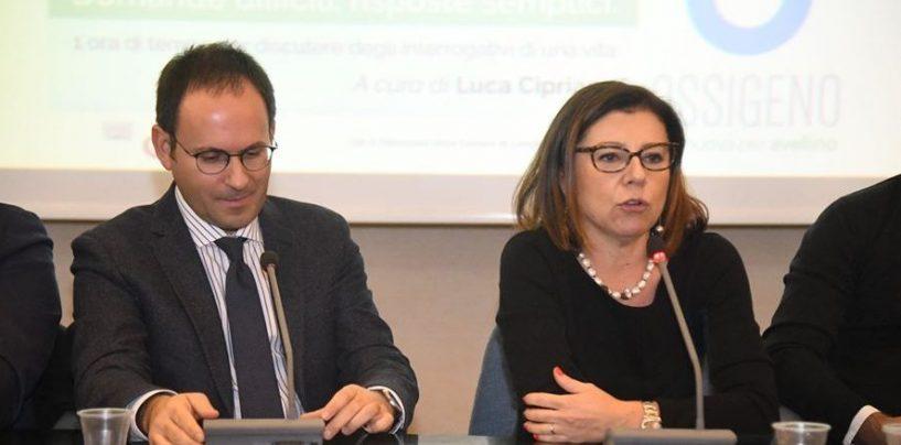 """""""Torno a fare politica nel Pd"""". L'annuncio di Cipriano e il grazie della Ministra De Micheli"""