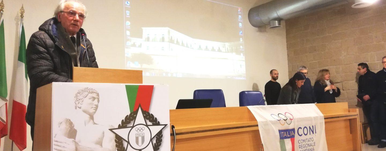 """FOTO / Il Coni premia le """"stelle"""" avellinesi. Saviano: """"Lo sport irpino è in ottima salute"""""""