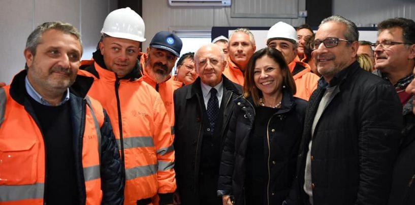 """Lioni-Grottaminarda, De Luca: """"Il 16 dicembre riapre il cantiere"""""""