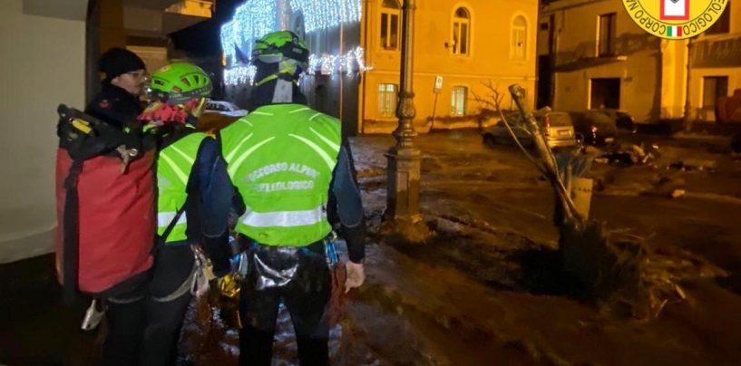 San Martino: il Soccorso Alpino evacua con le barelle persone in difficoltà