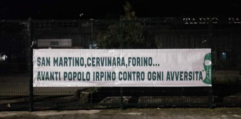 Ultras Avellino, un pensiero natalizio per gli alluvionati irpini