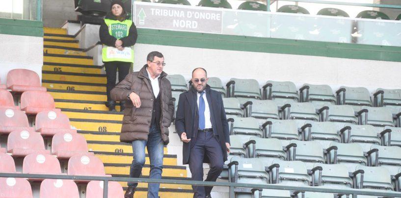 Stadio Partenio, Polcino fa l'impresa per i sediolini: l'Avellino non rischia