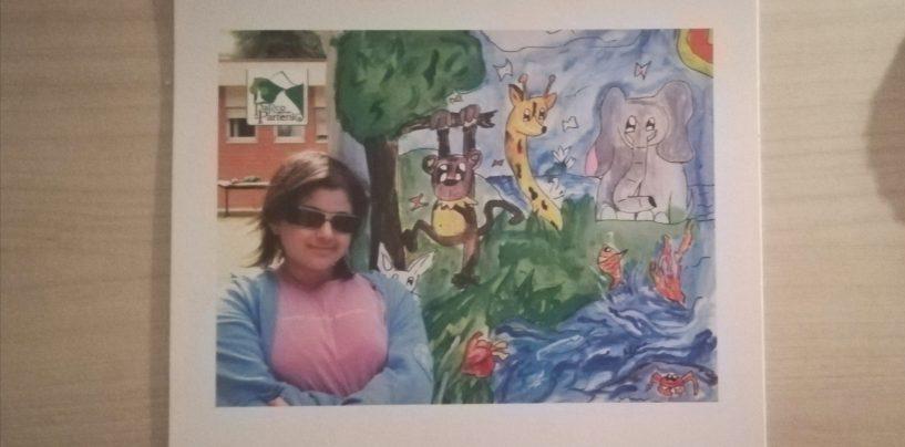 """Il talento di Alessia in un calendario: il ricavato """"donerà"""" alberi al Parco del Partenio"""