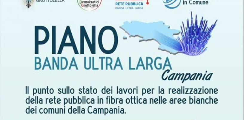 Piano banda ultra larga per la Campania, lunedì il punto sui lavori a Grottolella