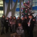 Video / Allestiti gli alberi rosa al Moscati, l'associazione Noi in Rosa ancora presente per la solidarietà